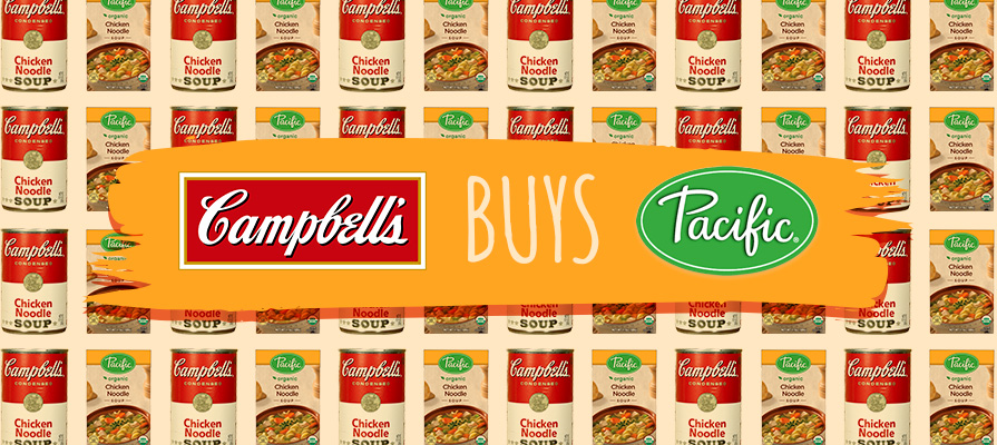 Campbell Soup Company announced its intent to purchase Pacific Foods this July