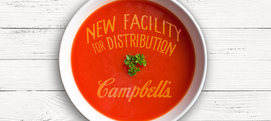 Campbell's Soup Begins Construction on New $44 Million Facility