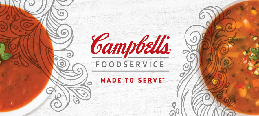 Campbell's Launches Reduced Sodium Soups in Foodservice