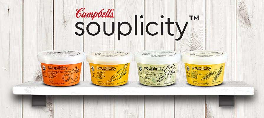 Campbell Soup's C-Fresh Division Unveils New souplicity™ Line