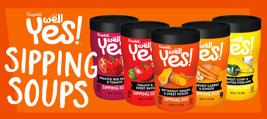 Campbell's Launches New Well Yes!® Sipping Soups