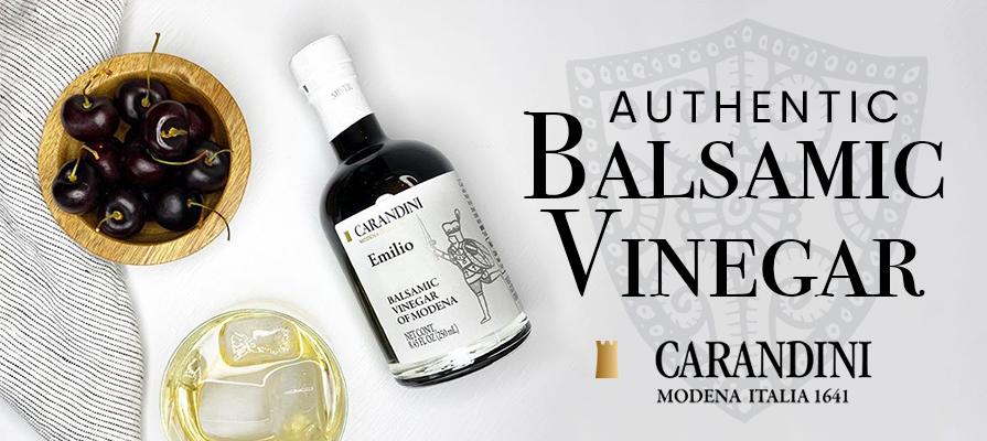 Carandini Introduces Authentic Balsamic Vinegar of Modena Across the U.S.