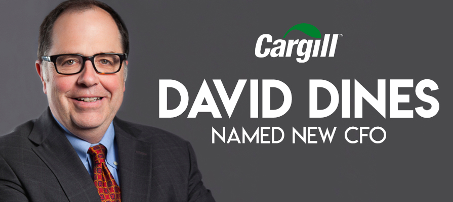 Cargill Names David Dines New CFO