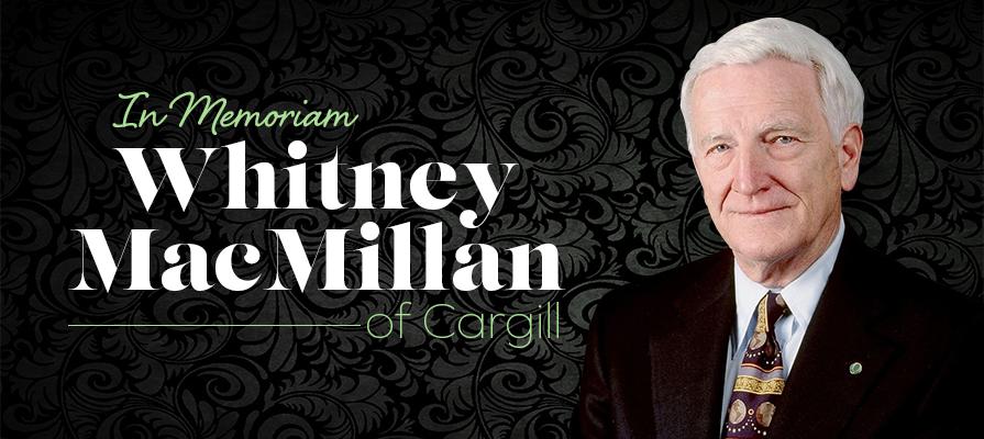 Whitney MacMillan, Former Cargill CEO, Passes Away