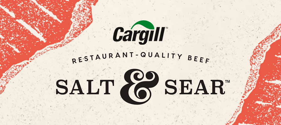 Cargill Launches Salt & Sear Brand for Restaurant Quality Beef at Home