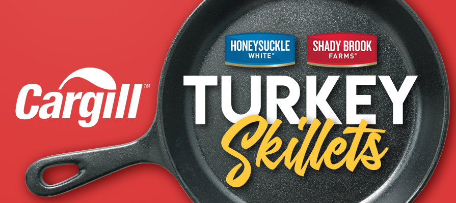 Cargill Teases New Honeysuckle White® and Shady Brook Farms® Turkey Skillet Kits
