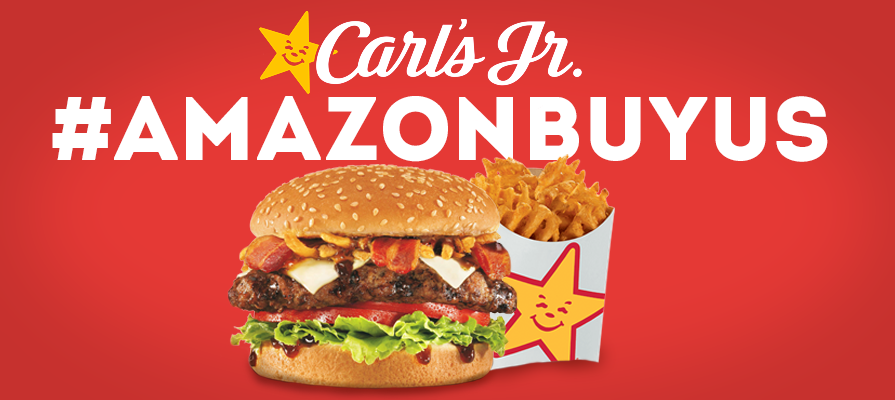 Carl's Jr. Launches Amazon Seduction Strategy on Twitter