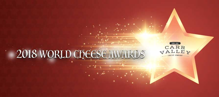 Carr Valley Cheese Announces 2018 World Cheese Award Wins