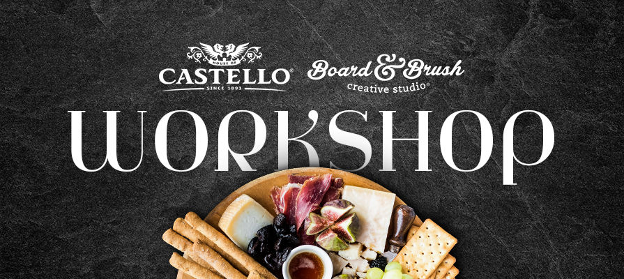 Castello® Cheese Nabs Partner Board & Brush for Exclusive Cheeseboard Workshops; Leah Sbriscia and Amy Sackrison Comment