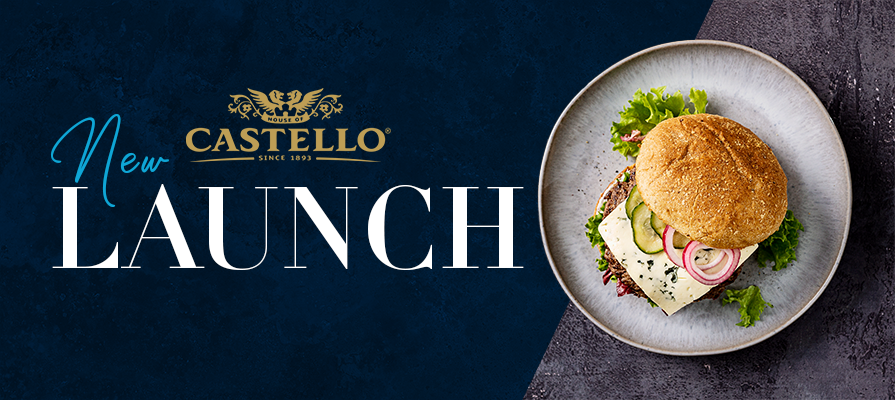 Castello Cheese Launches New Burger Blue Cheese Slices for Foodservice