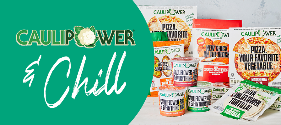 CAULIPOWER® Launches 'CAULIPOWER® & CHILL' Celebrity Pizza Party Social Series