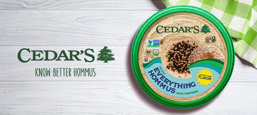 Cedar's Foods Introduces Limited Batch Topped Organic Hommus Flavor; Aimee Tsakirellis Discusses