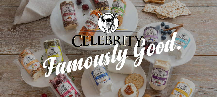 Celebrity Offers Fresh Flavors, Differentiation in the Growing Goat Cheese Market
