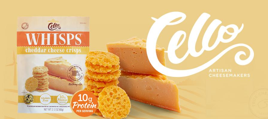 Schuman Cheese Debuts Cheddar Cello Whisps