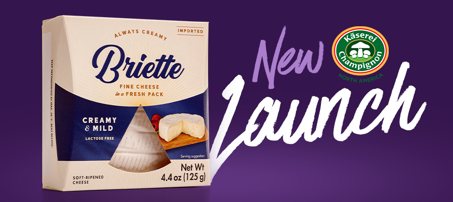 Champignon North America Partners With FOODMatch to Introduce New Merchandising Solution and New Line of Briette Cheeses