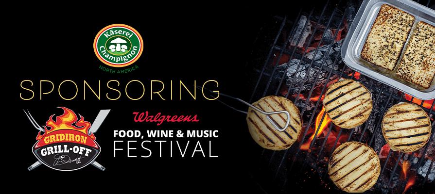 Champignon North America Sponsors Walgreens Gridiron Grill-Off Food, Wine & Music Festival