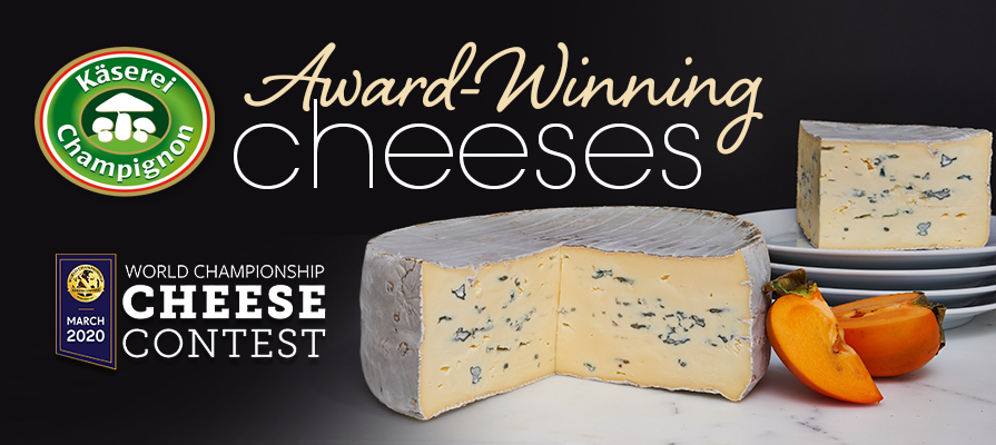 Käserei Champignon Wins Best in Class at the World Championship Cheese Contest