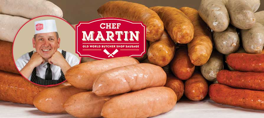 Chef Martin Sausages Bring Old World Flavor to a Growing Customer Base