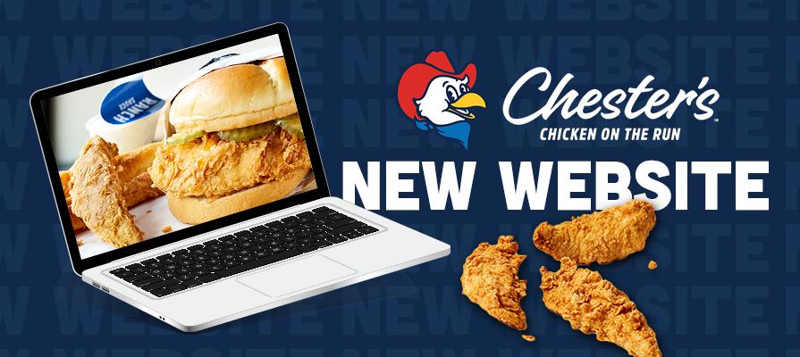 Chester's Chicken Unveils New Website