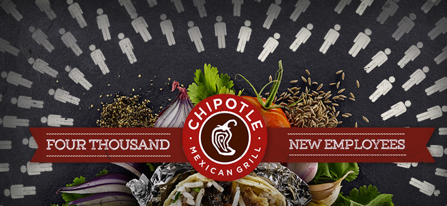 Chipotle Hiring 4,000 New Employees Across the U.S.