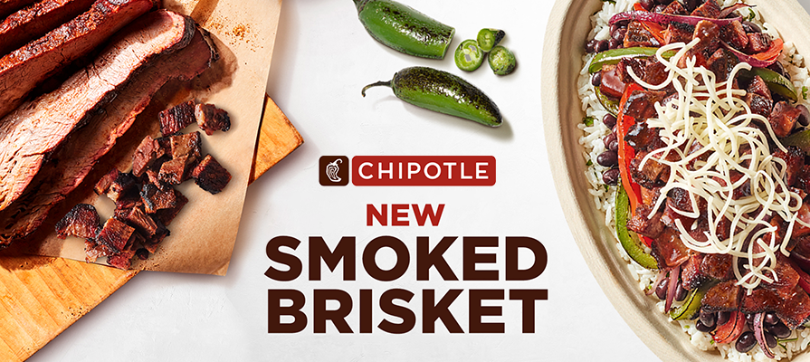 Chipotle Adds Smoked Brisket to Its Menu