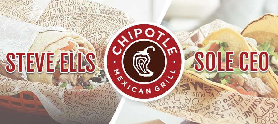 Chipotle Announces Steve Ells as Sole CEO