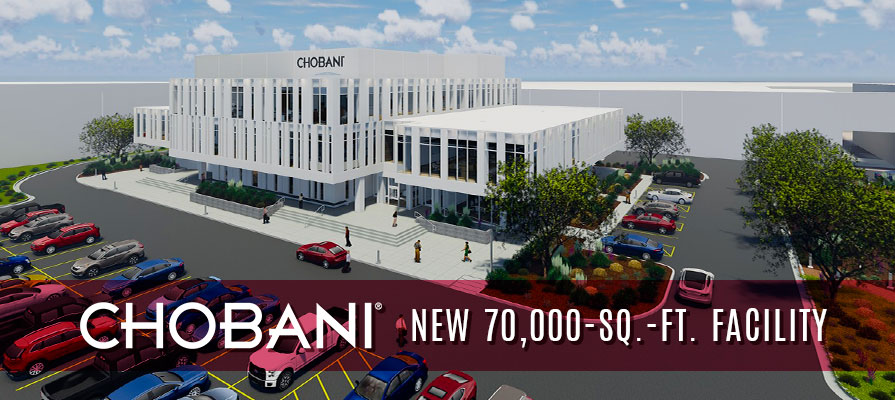 Chobani Expands Footprint with New, 70,000-Square-Foot Innovation and Community Center