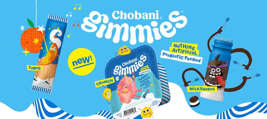 New Chobani Product Line Caters to Kids