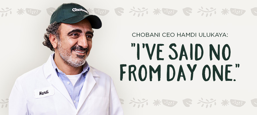 Chobani's CEO Would Consider Going Public