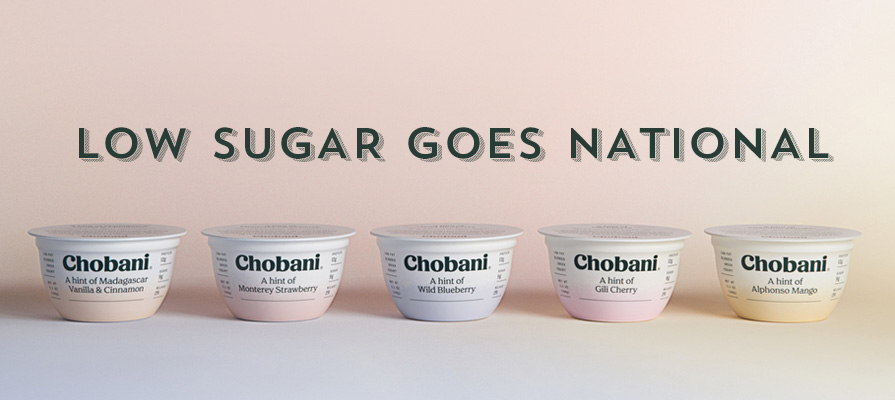 Chobani Launches New  Hint Of  Yogurt Line, with Less Sugar Content, Nationwide