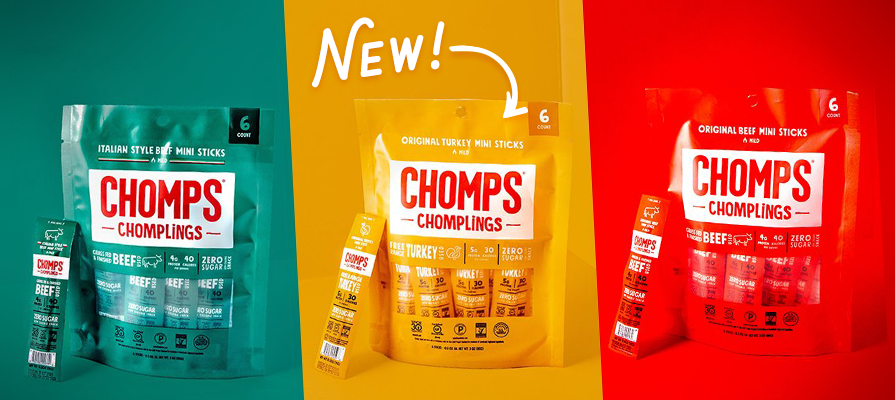Chomps Debuts New Varieties and Formats