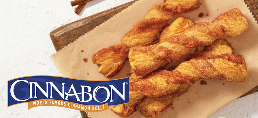 Cinnabon Announces the Relaunch of its Popular Cinnabon Stix