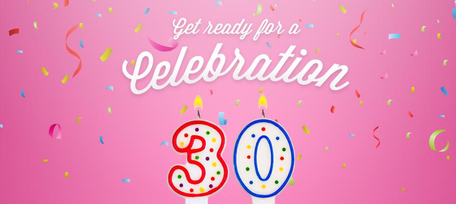 Cinnabon® Celebrates 30 Sweet Years of Service
