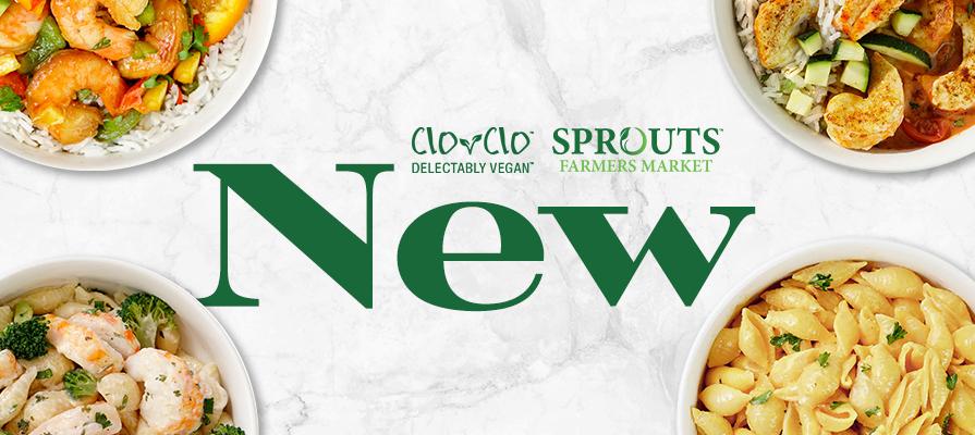 CLO-CLO™ Vegan Foods New Plant-Based Shrimp Entrée Bowls at Sprouts Farmers Market; Wendy Hinnenkamp Shares