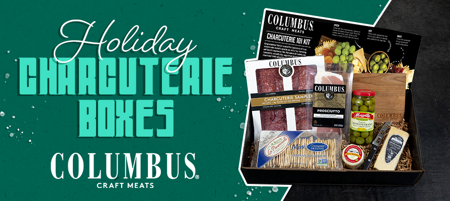 Columbus® Craft Meats Releases Premium Charcuterie Boxes Ahead of the Holiday Season
