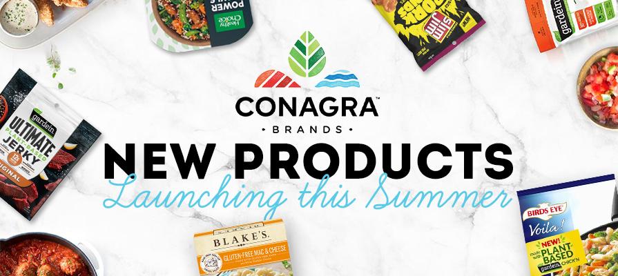 Conagra Debuts More Than Two Dozen Items