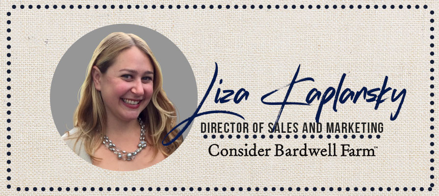 Consider Bardwell Farm Welcomes Liza Kaplansky as its New Director of Sales and Marketing