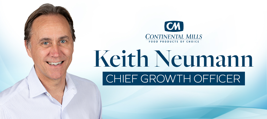 Continental Mills Names CPG Veteran Keith Neumann Chief Growth Officer