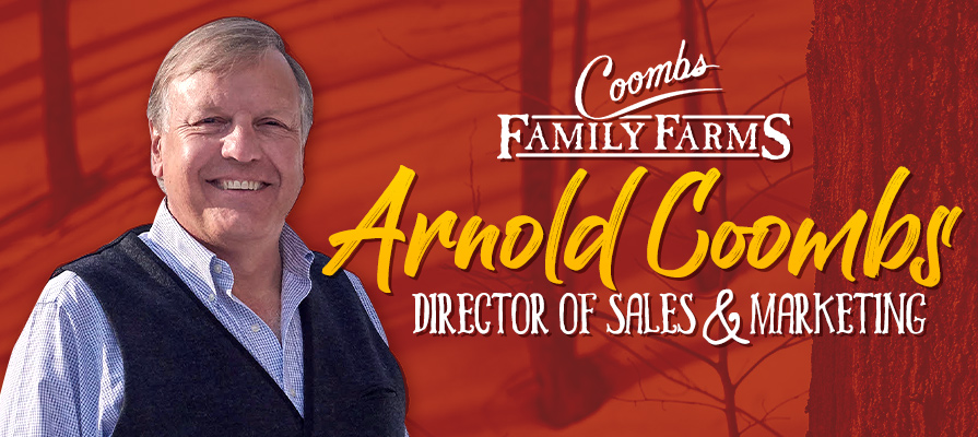 Arnold Coombs of Coombs Family Farms Talks New Products and Maple Category Growth