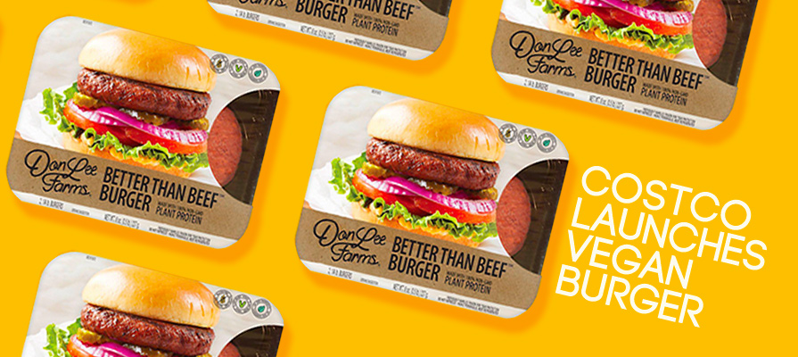 Costco Announces Partnership with Don Lee Farms for Plant-Based Burgers