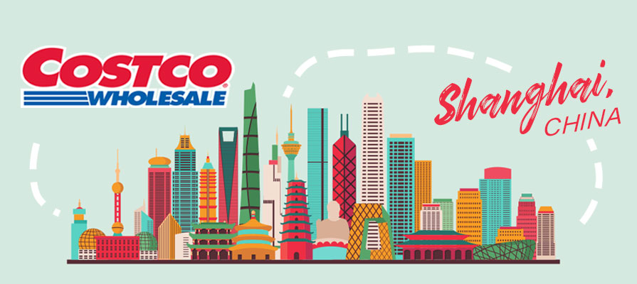Costco Opens First Brick-and-Mortar Store in China