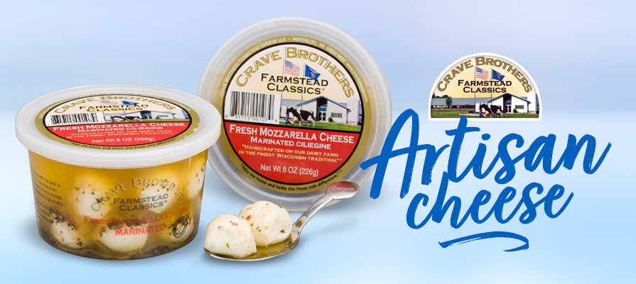 Crave Brothers Highlights Artisan Cheese Solutions