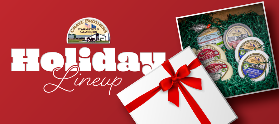 Crave Brother's Farmstead Cheese Launches New Holiday Lineup