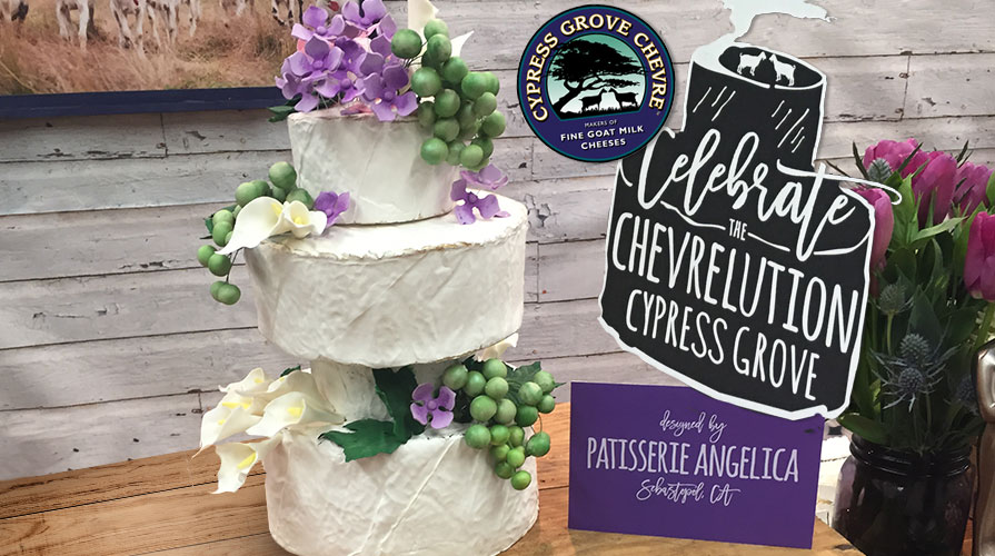 Cypress Grove Chevre Asks Fancy Food Show Attendees to  Celebrate the Chevrelution