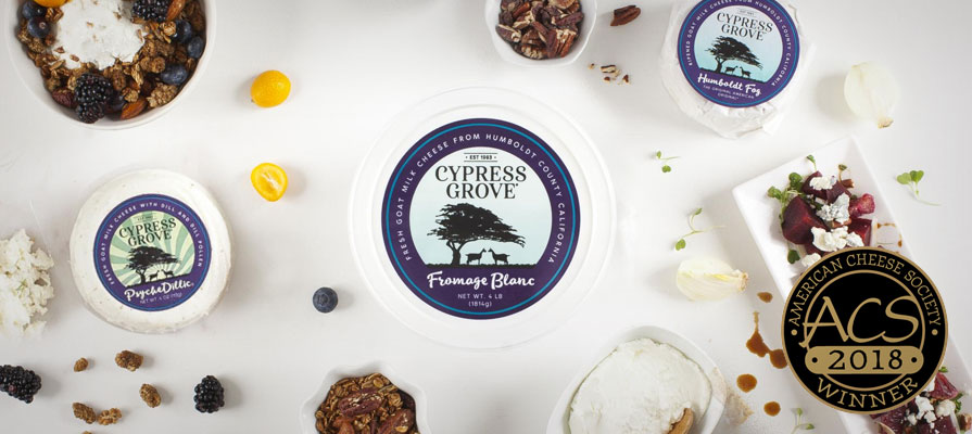 Cypress Grove Cheeses Take the Gold