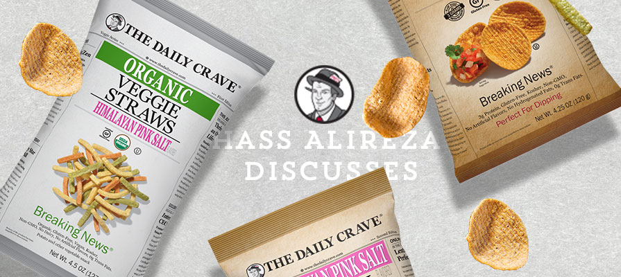 The Daily Crave's CEO Hass Alireza Discusses Product Line and More