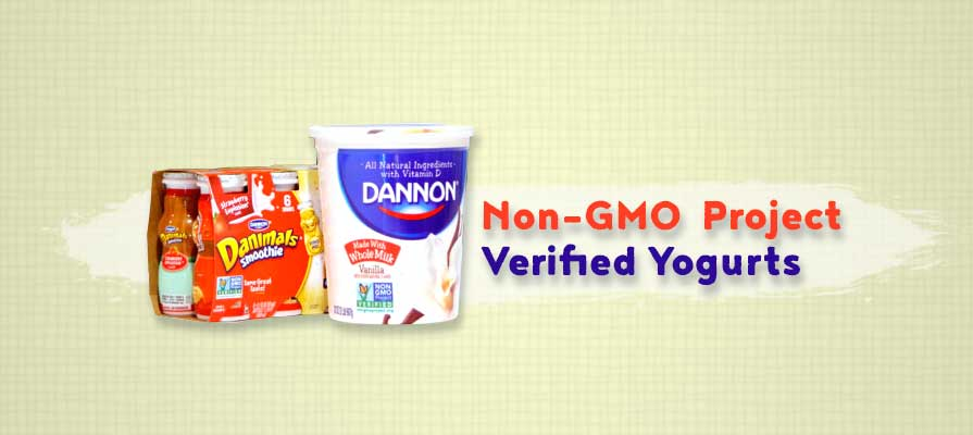 Dannon Introduces First Non-GMO Project Verified Yogurts