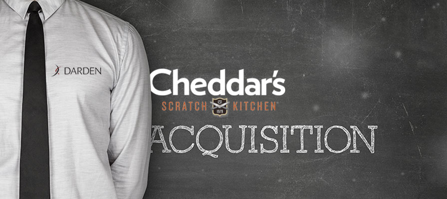 Darden Restaurants Agrees to Purchase Cheddar's Scratch Kitchen for $780 Million