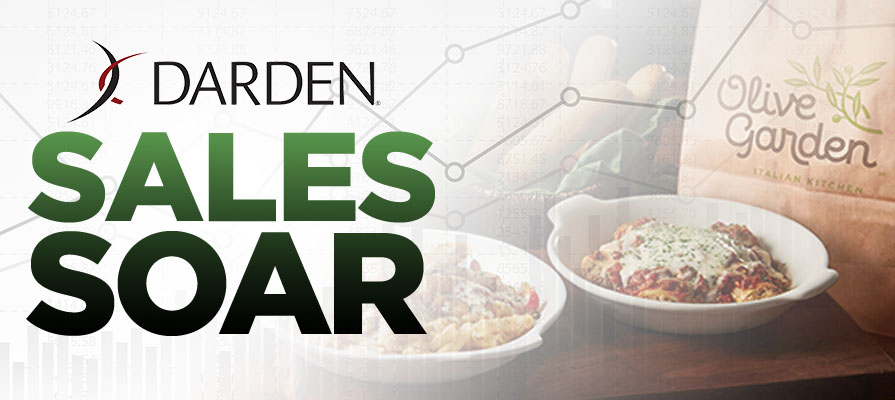 Darden Announces Strong Sales After Major 2017 Acquisition