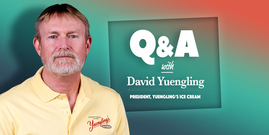 Q&A with Yuengling's Ice Cream President, David Yuengling